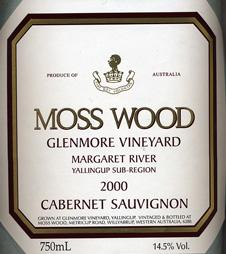 Label_MW_Glenmore_Vineyard_2000