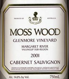 Label_MW_Glenmore_Vineyard_2001