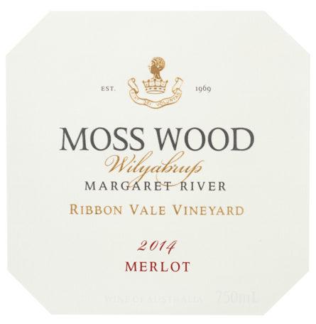 RV14 Merlot 2014 Ribbon Vale Label
